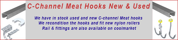 C-Channel Meat Hooks